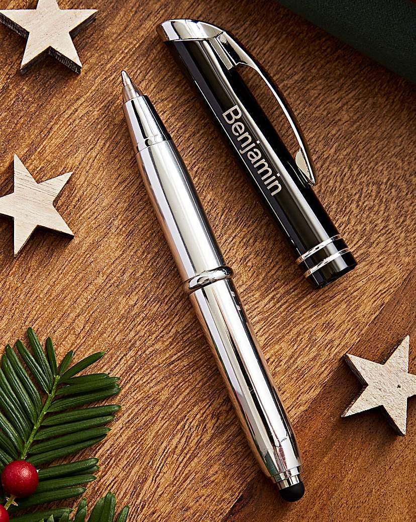 Personalised Triple Function Stylus Pen