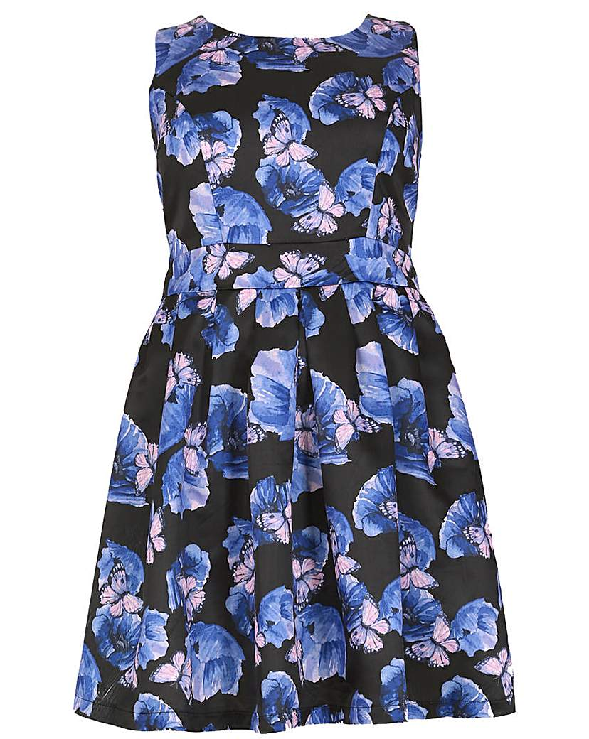 Samya Flower Printed Dress