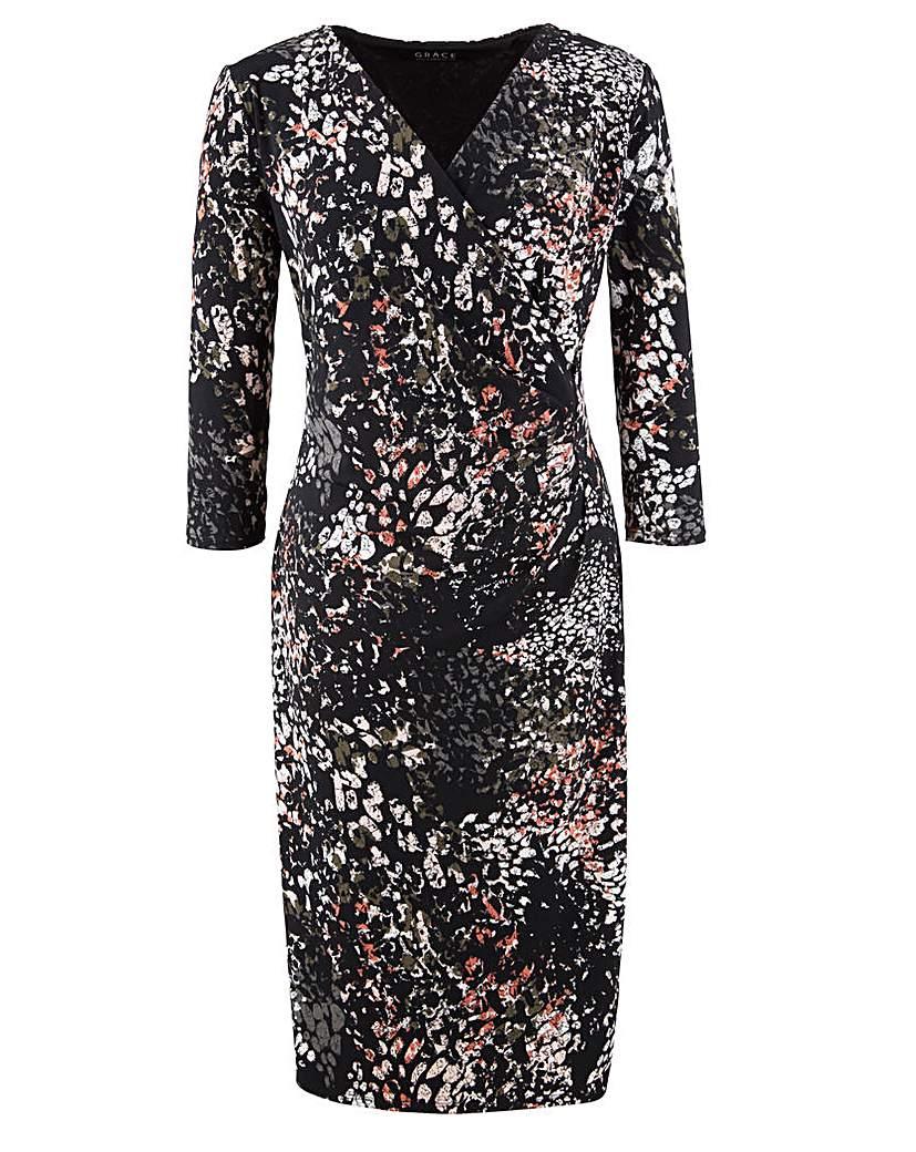 Grace Made in Britain print dress