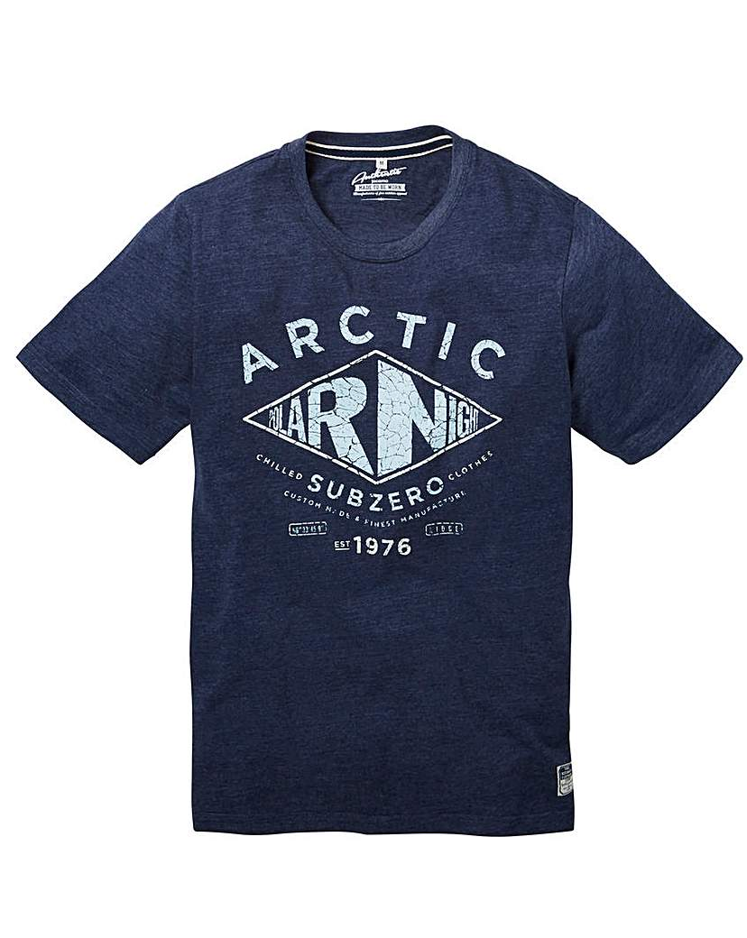 Image of Jacamo Acton Graphic T-Shirt Long