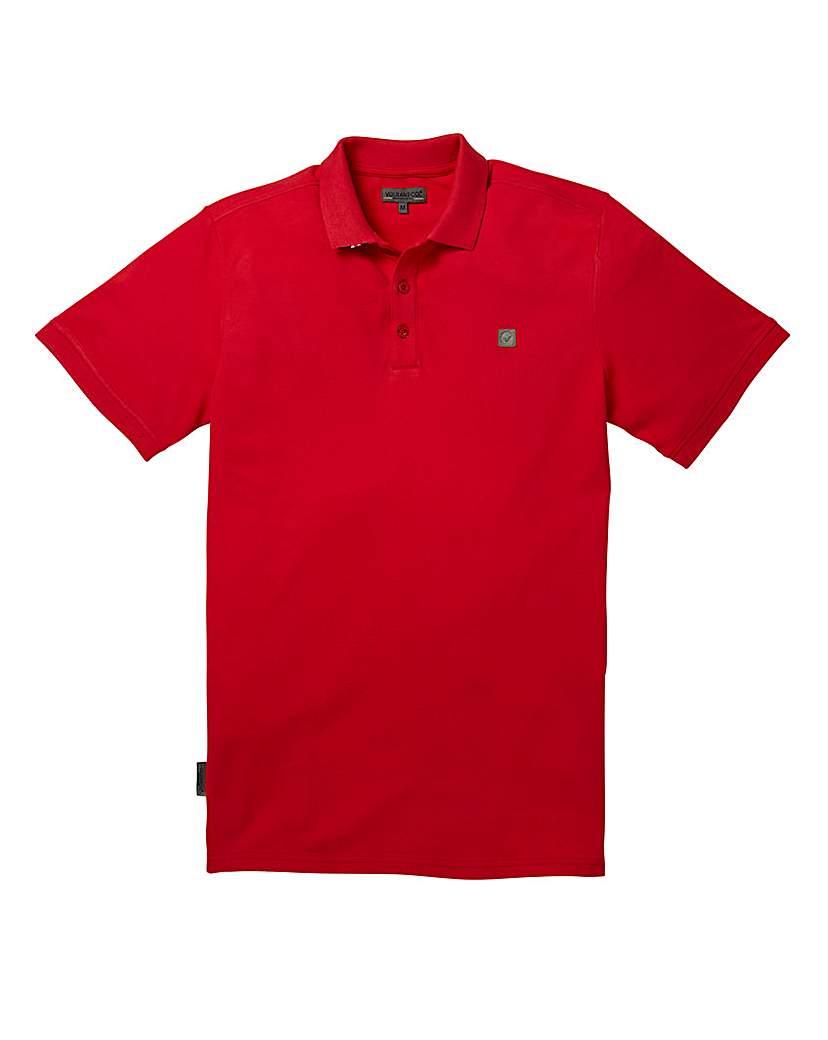 Voi Beach Red Polo Regular