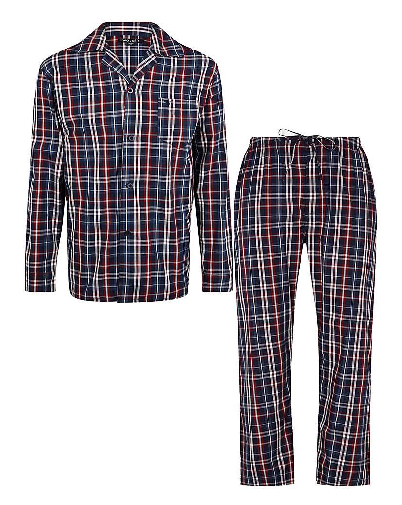 Wolsey Check Poplin Pyjamas