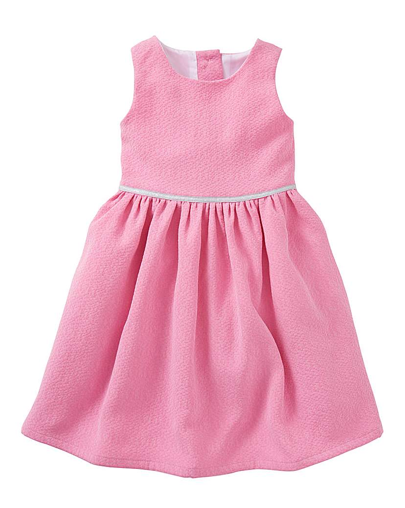 KD MINI Girls Jacquard Dress (2-6 yrs)