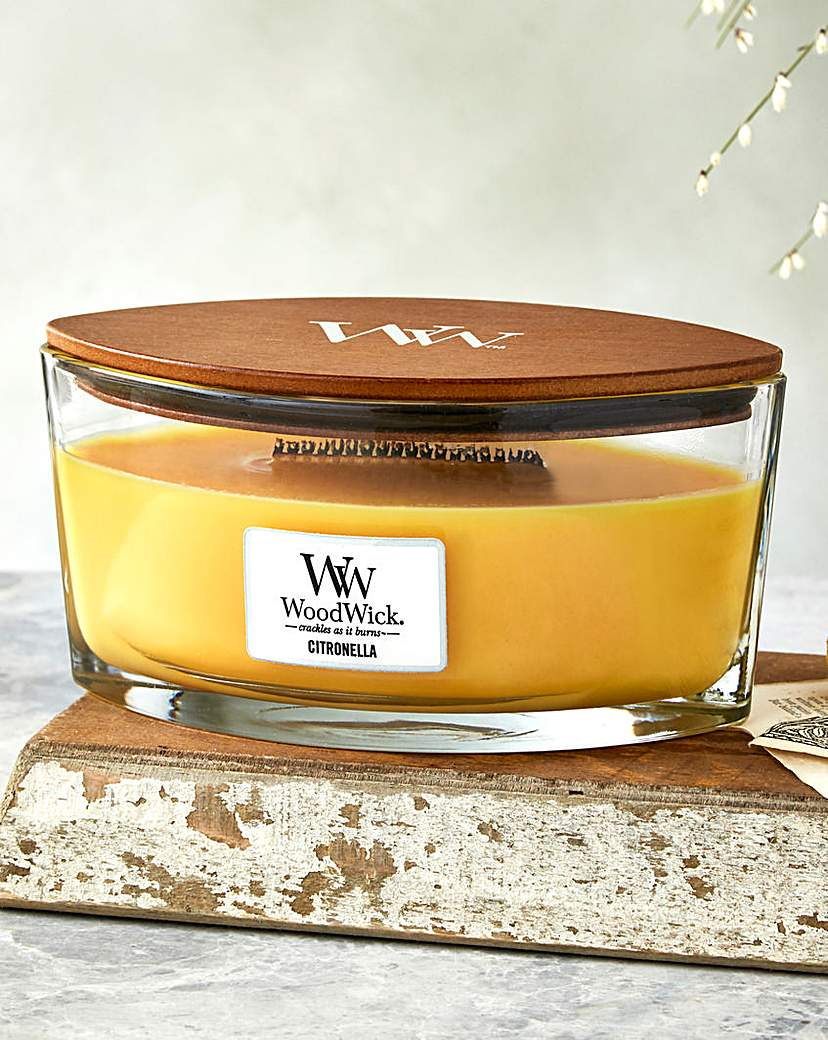Image of WoodWick Citronella Hearthwick Jar