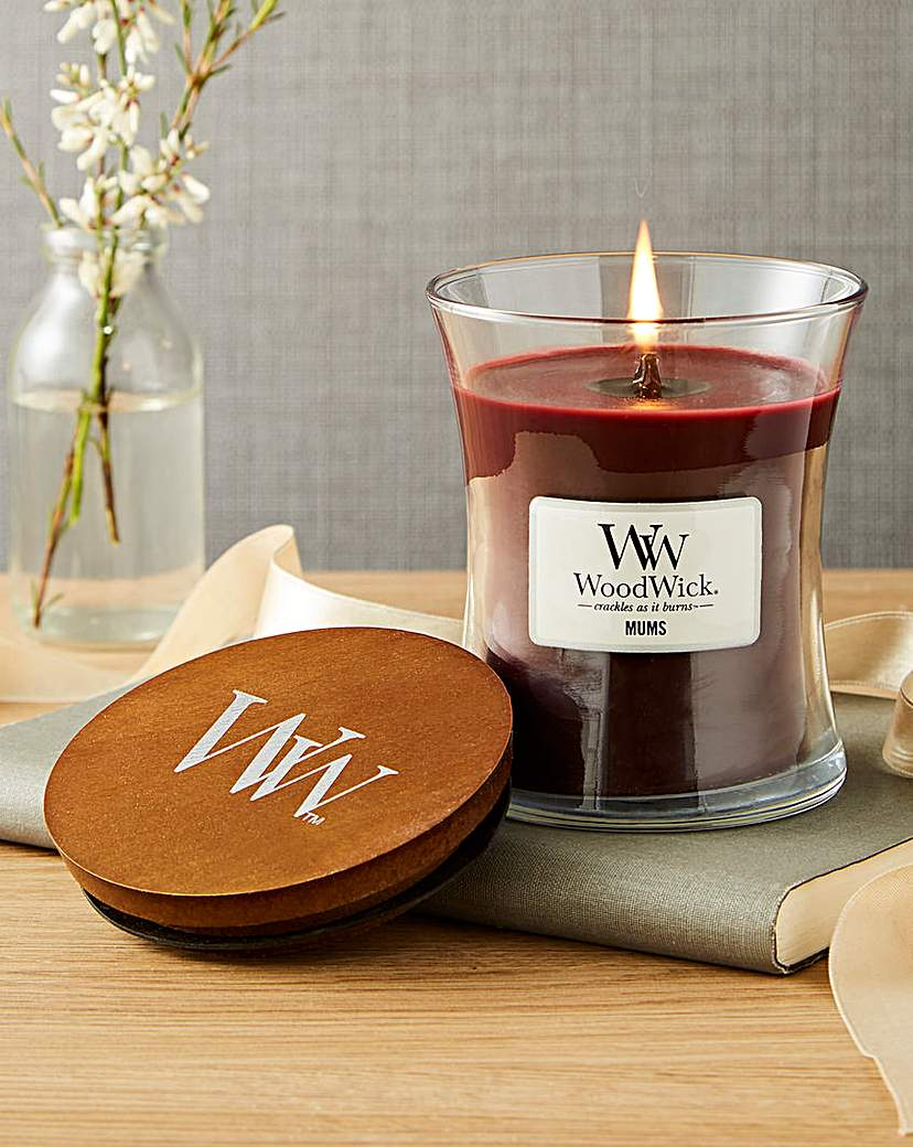 Image of WoodWick Mums Medium Jar Candle