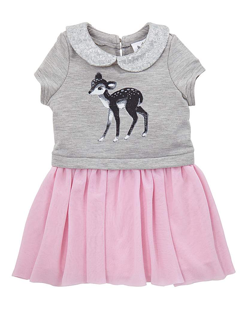Image of KD Baby Deer Print Dress
