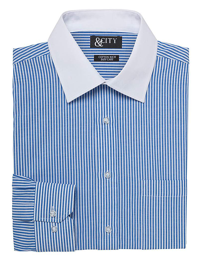 Image of & City Mighty Bengal Stripe Shirt