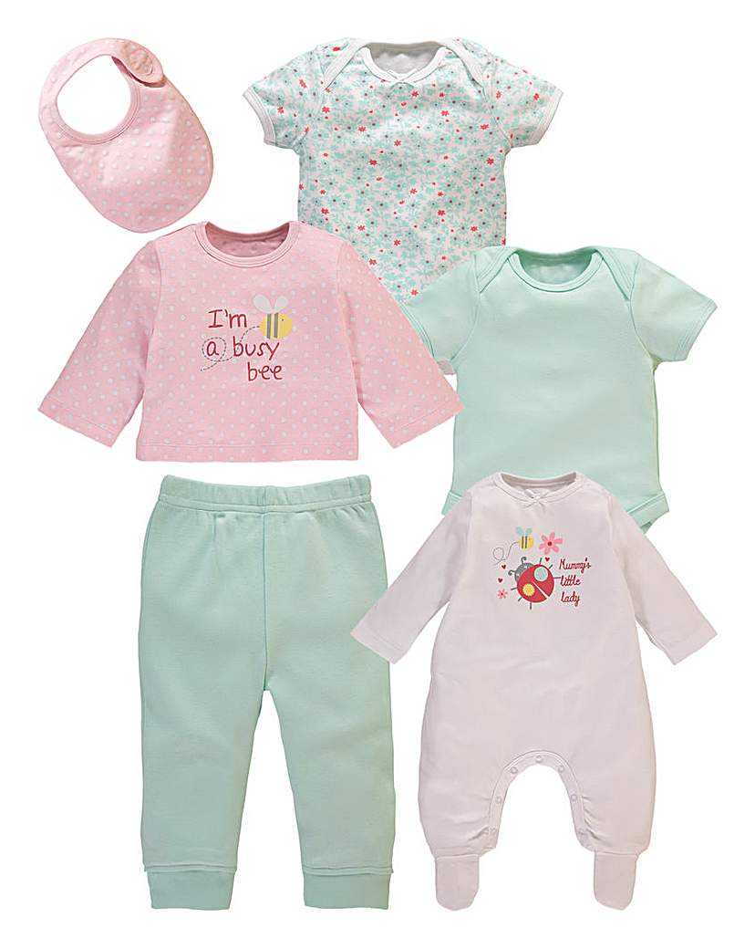 KD BABY Girls 6 Piece Starter Set