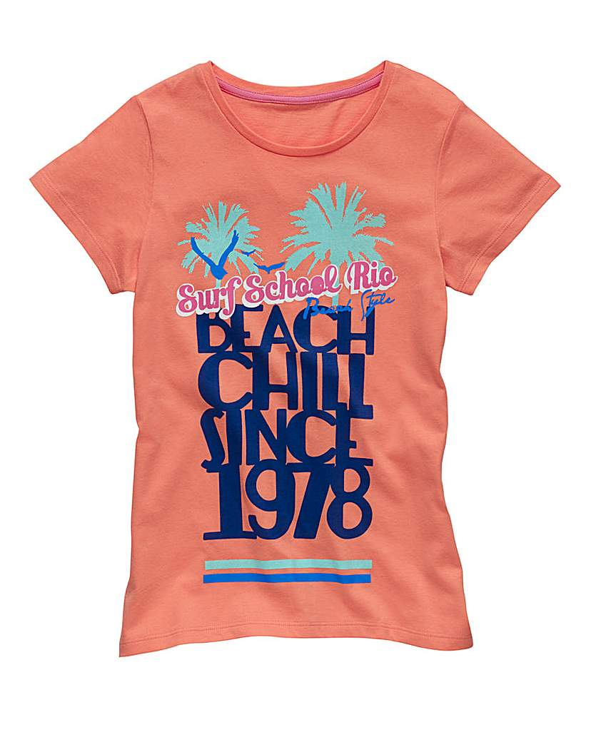 Product photo of Kd edge girls beach tshirt 713 years
