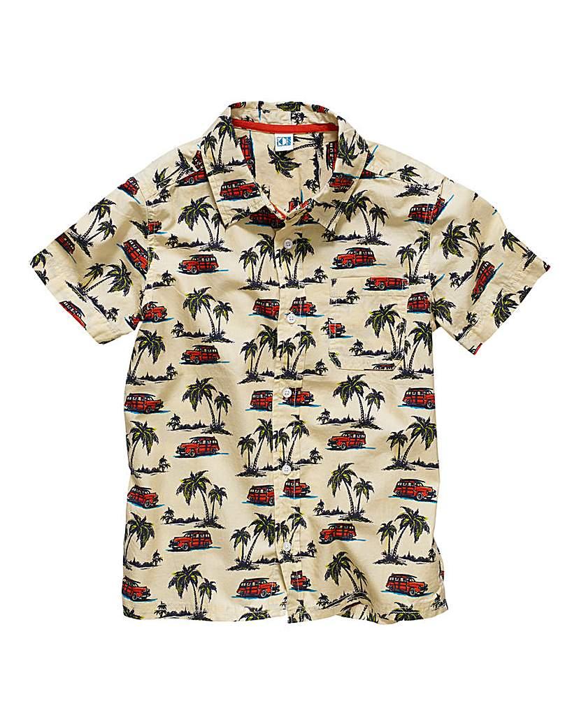 Image of KD EDGE Boys Palm Tree Shirt (7-13yrs)