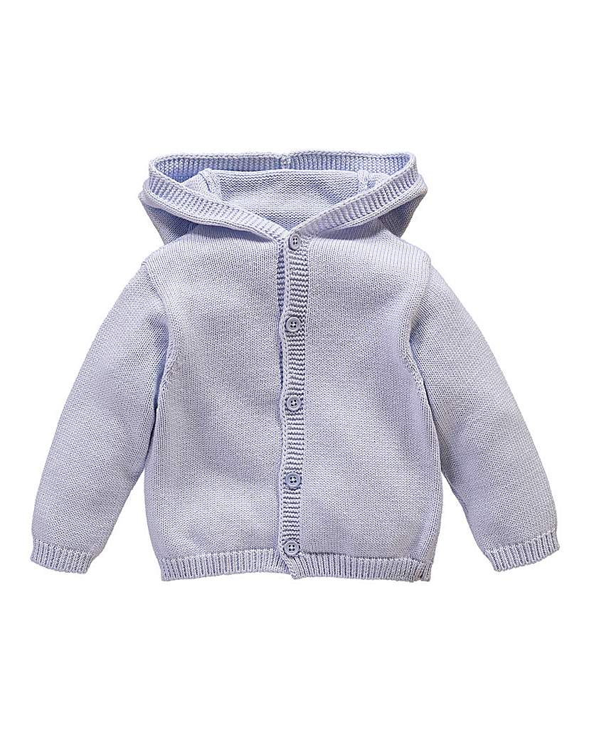 KD BABY Boys Cable Hooded Cardigan