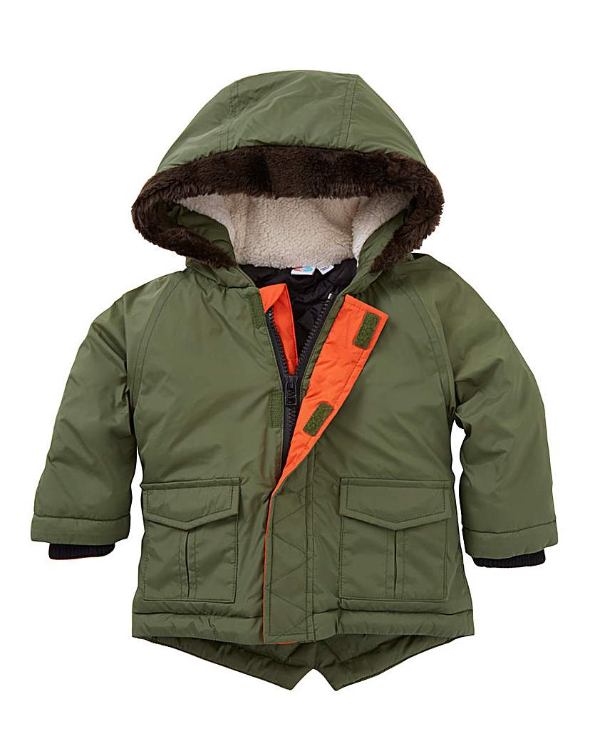 KD BABY Boys Parka Coat