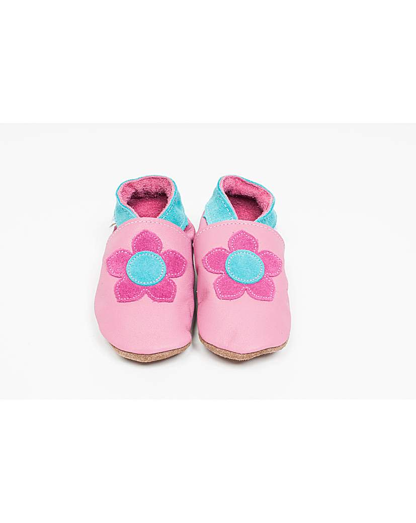Image of Hippychick Baby Shoes Pink Kirstie Rose