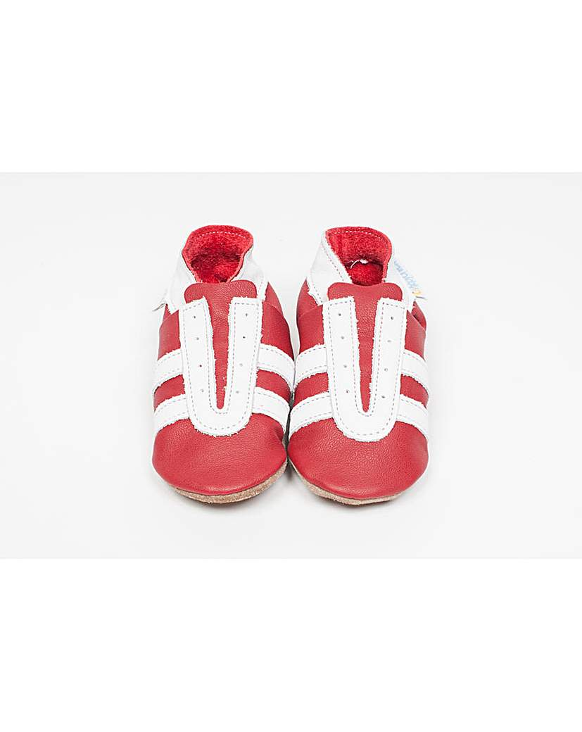 Image of Hippychick Baby Shoes Red Trainers