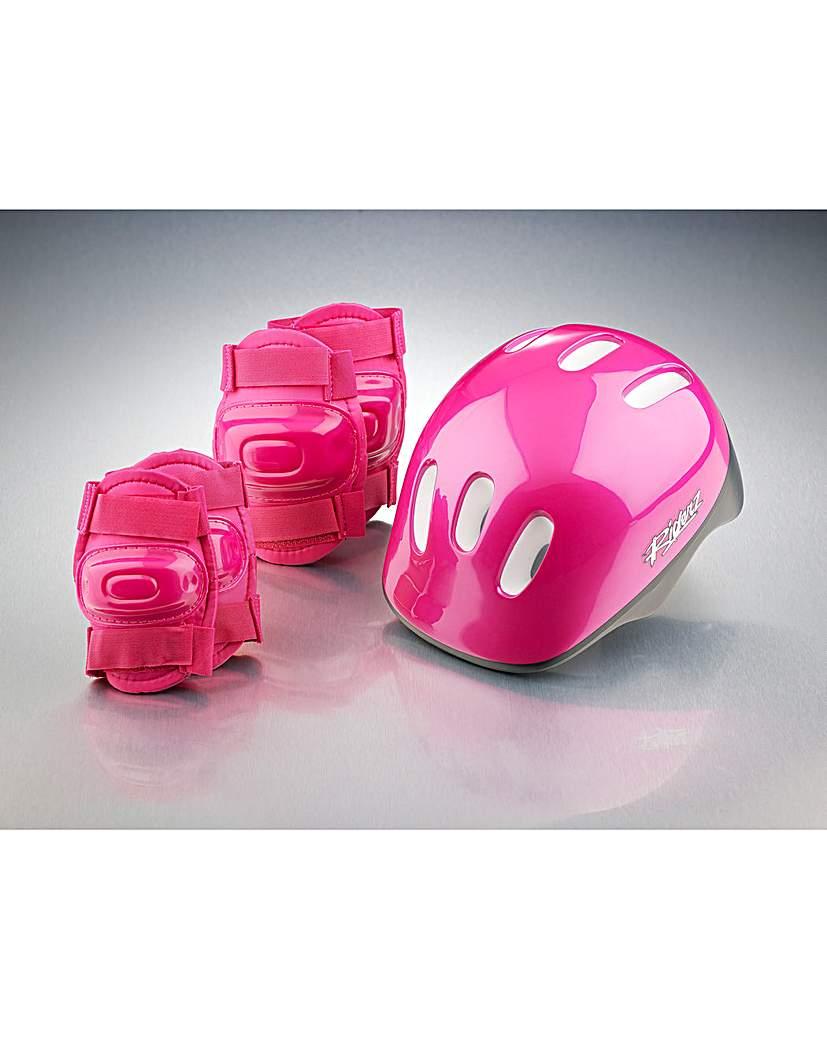 Helmet & Pads.