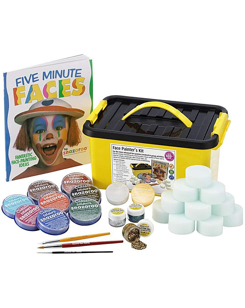Image of Snazaroo Face Painters Face Paint Kit