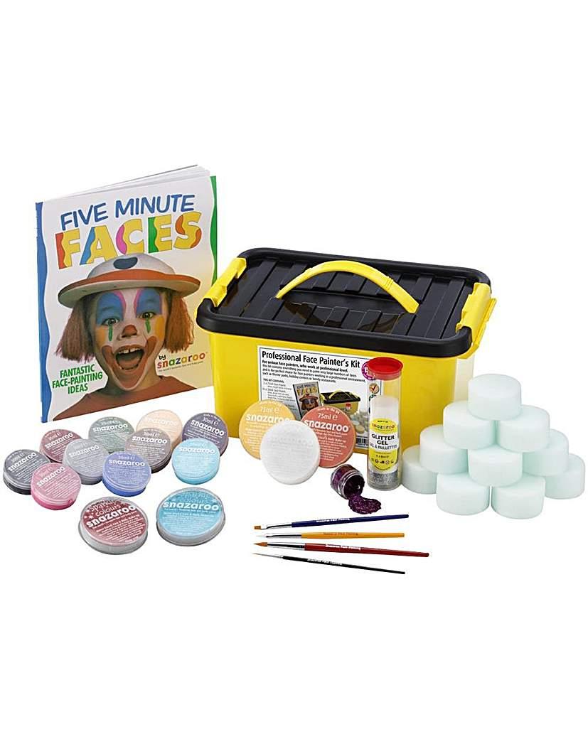 Image of Snazaroo Professional Face Paint Kit