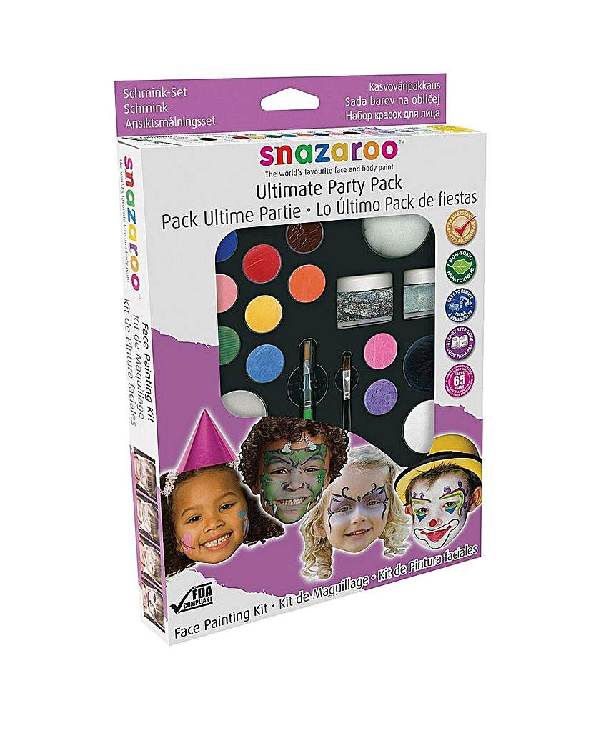 Image of Snazaroo Ultimate Party Face Paint Kit
