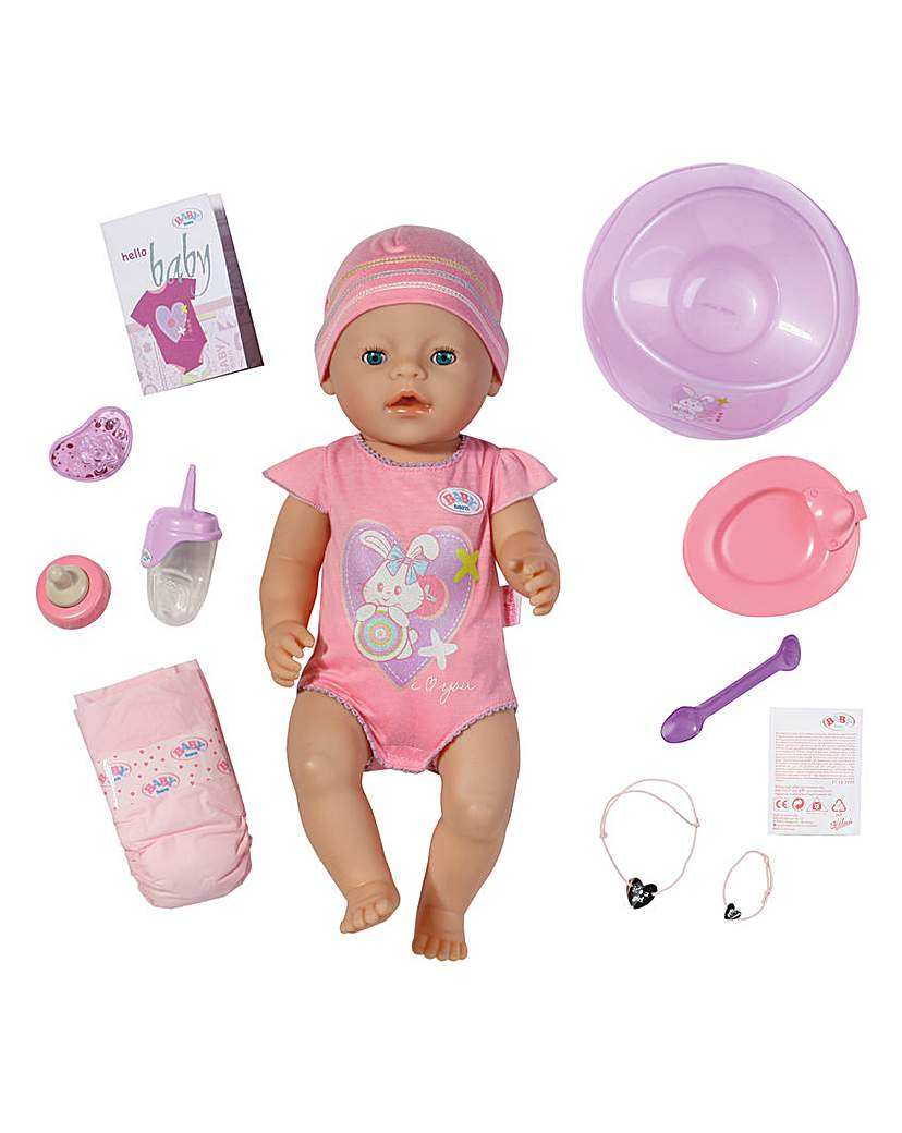 Image of Baby Born Interactive Doll