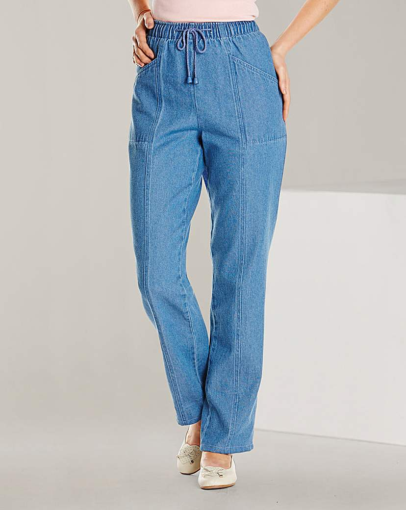 Image of Comfort Fit Jeans Length 25in