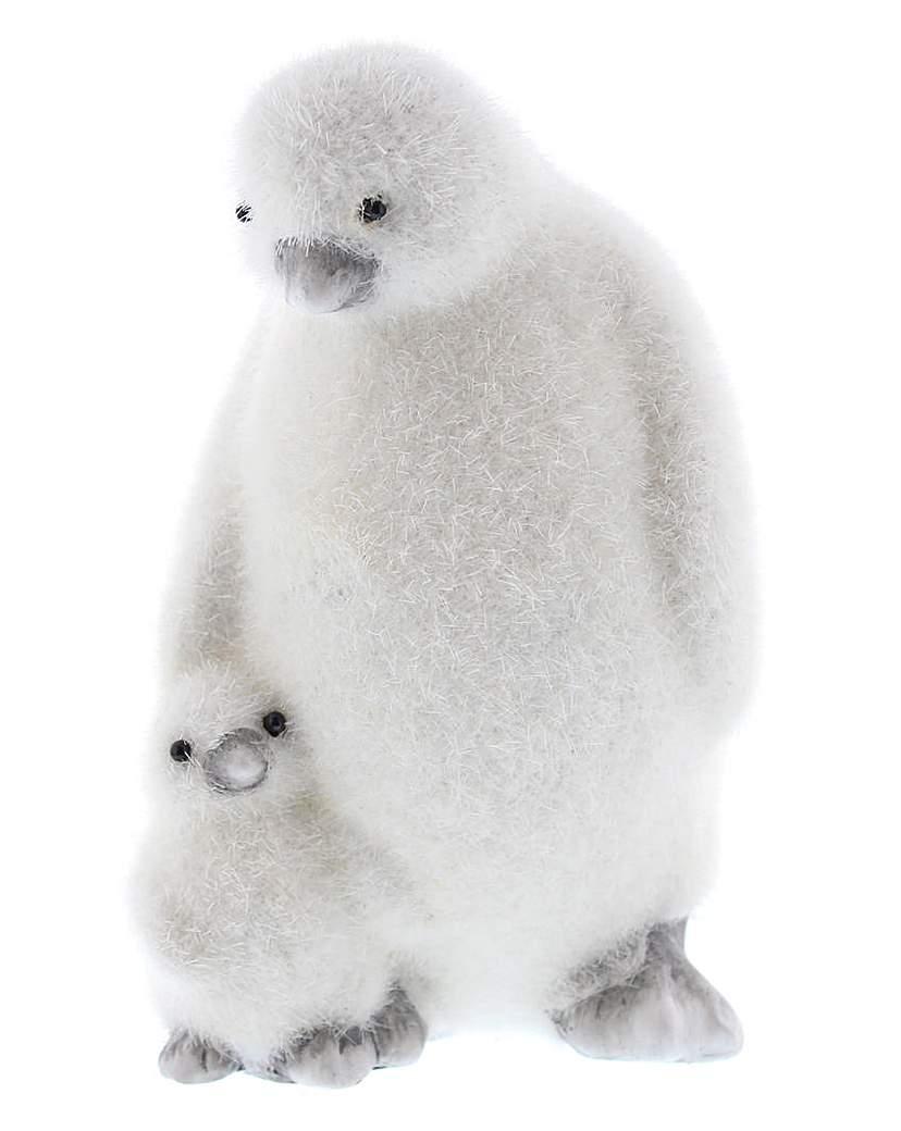 Flocked Penguins