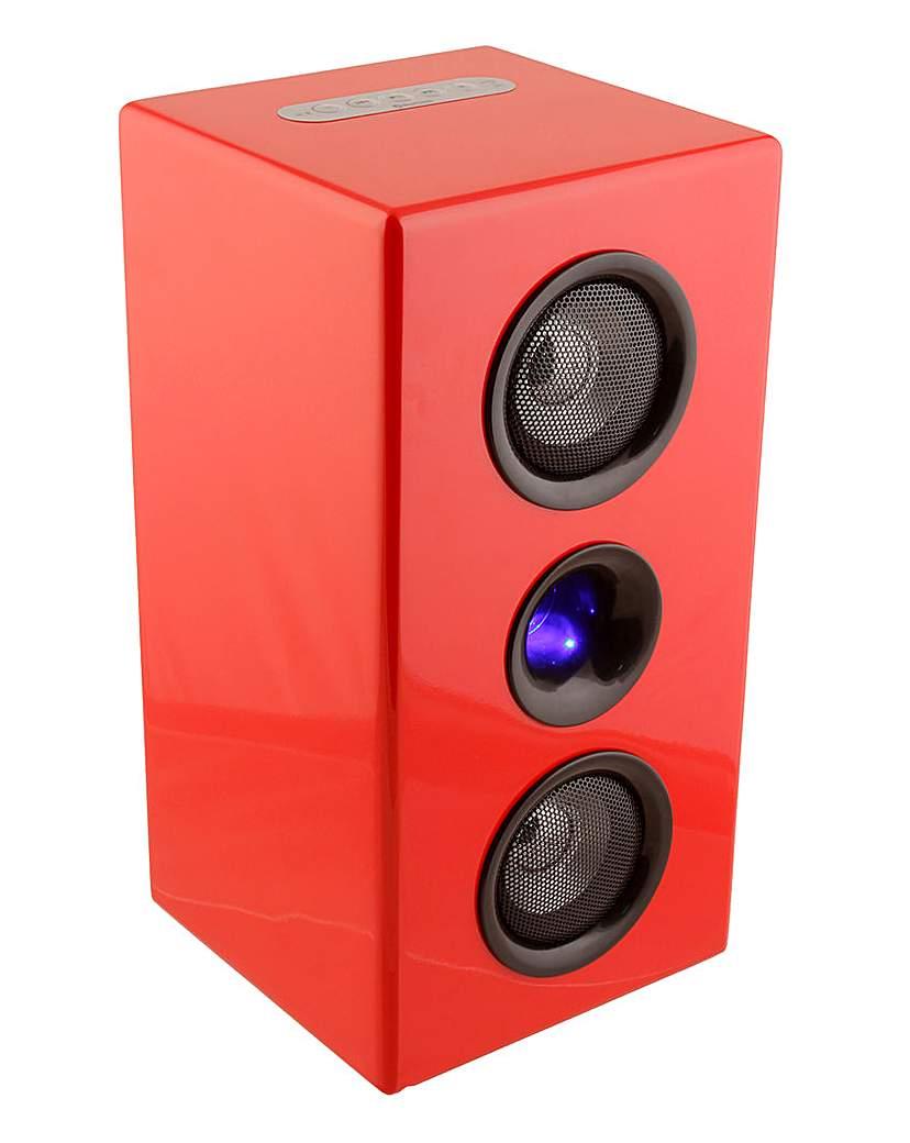 Steepletone Bluetooth Speaker - Red