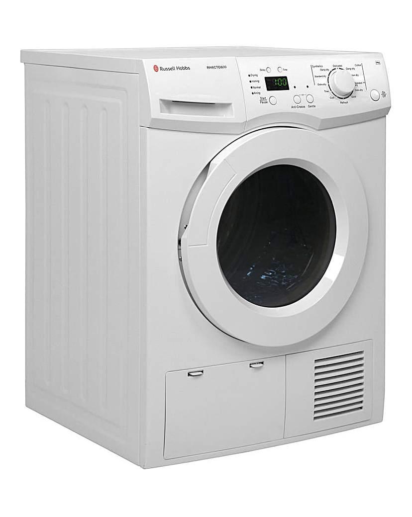 Russell Hobbs White 8kg Condenser Dryer