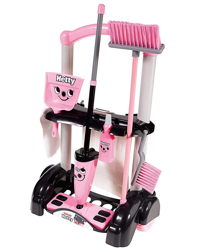Image of Hetty Toy Cleaning Trolley