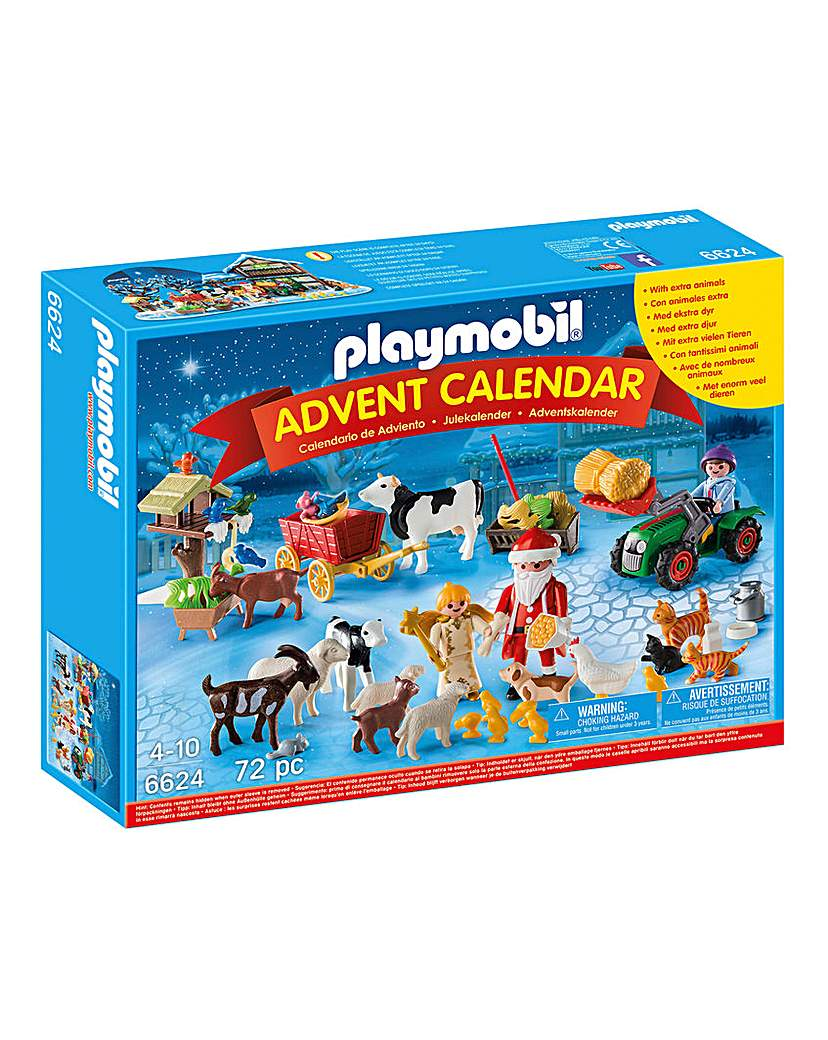 Playmobil Christmas on the Farm Advent