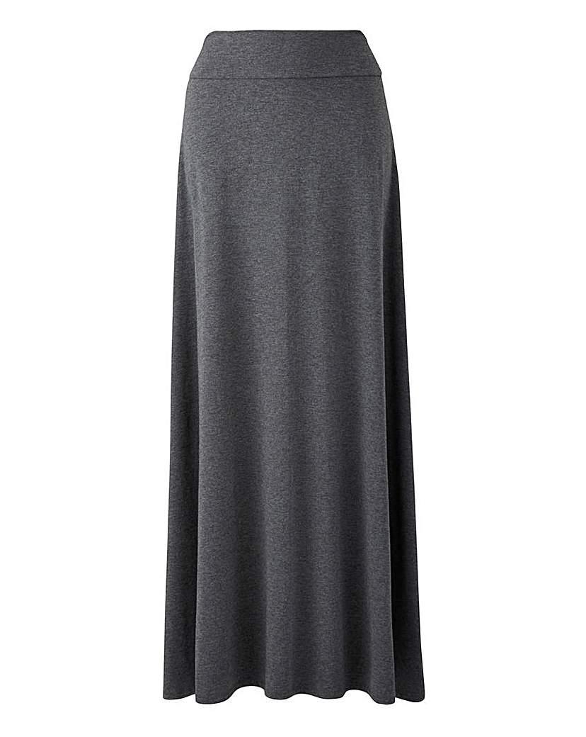 Jersey Maxi Skirt.