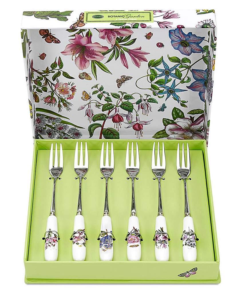Portmeirion Botanic Garden Pastry Forks