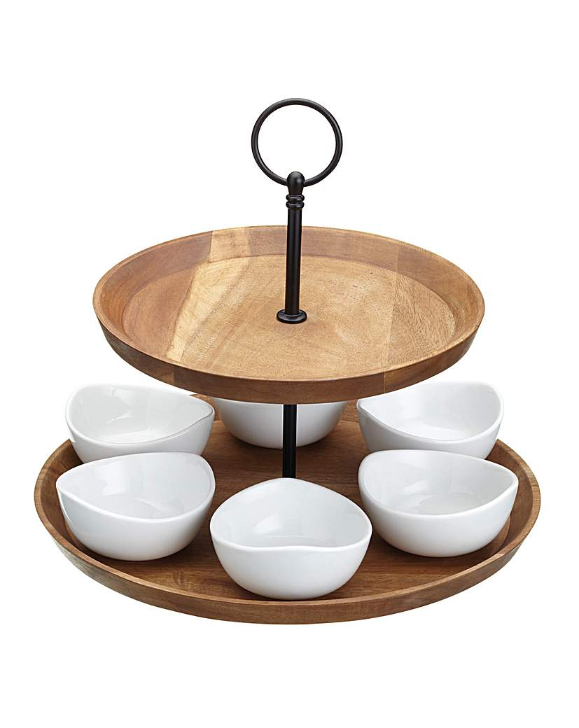 Image of Master Class Two Tier Serving Set
