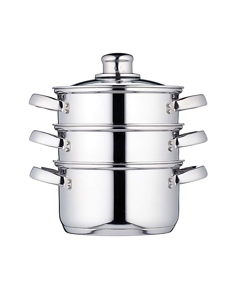 Kitchen Craft 3 Tier Steamer