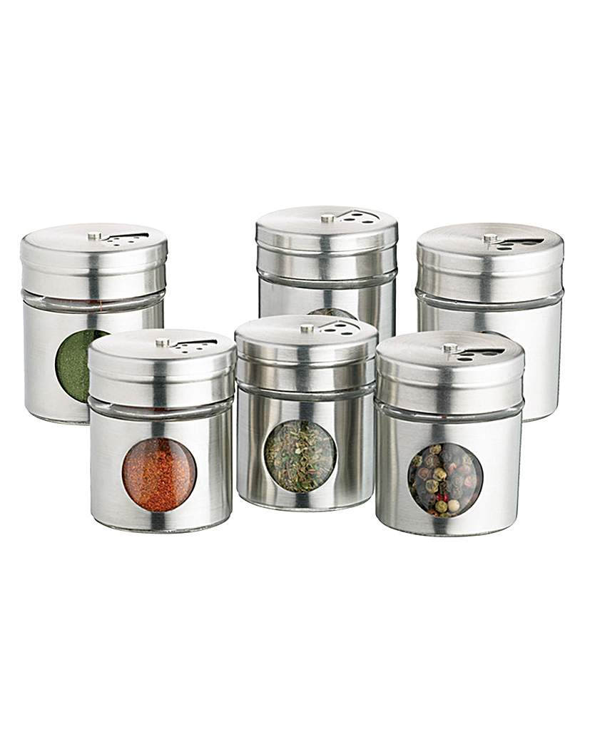 Home Made Spice Jar Set