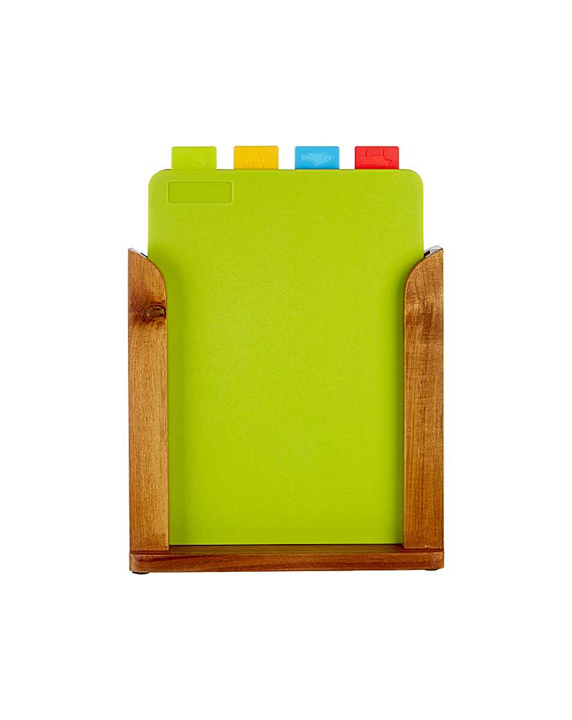 Image of Premier Housewares 4 Chopping Boards