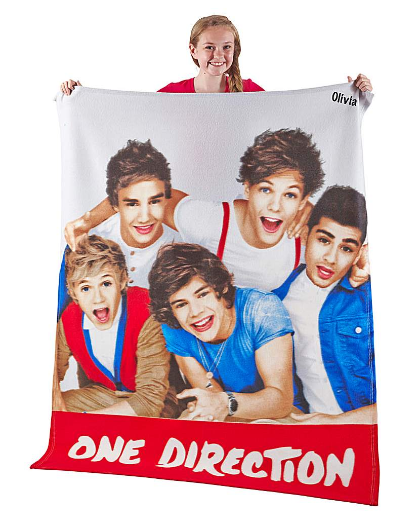 One Direction Personalised Craze Fleece