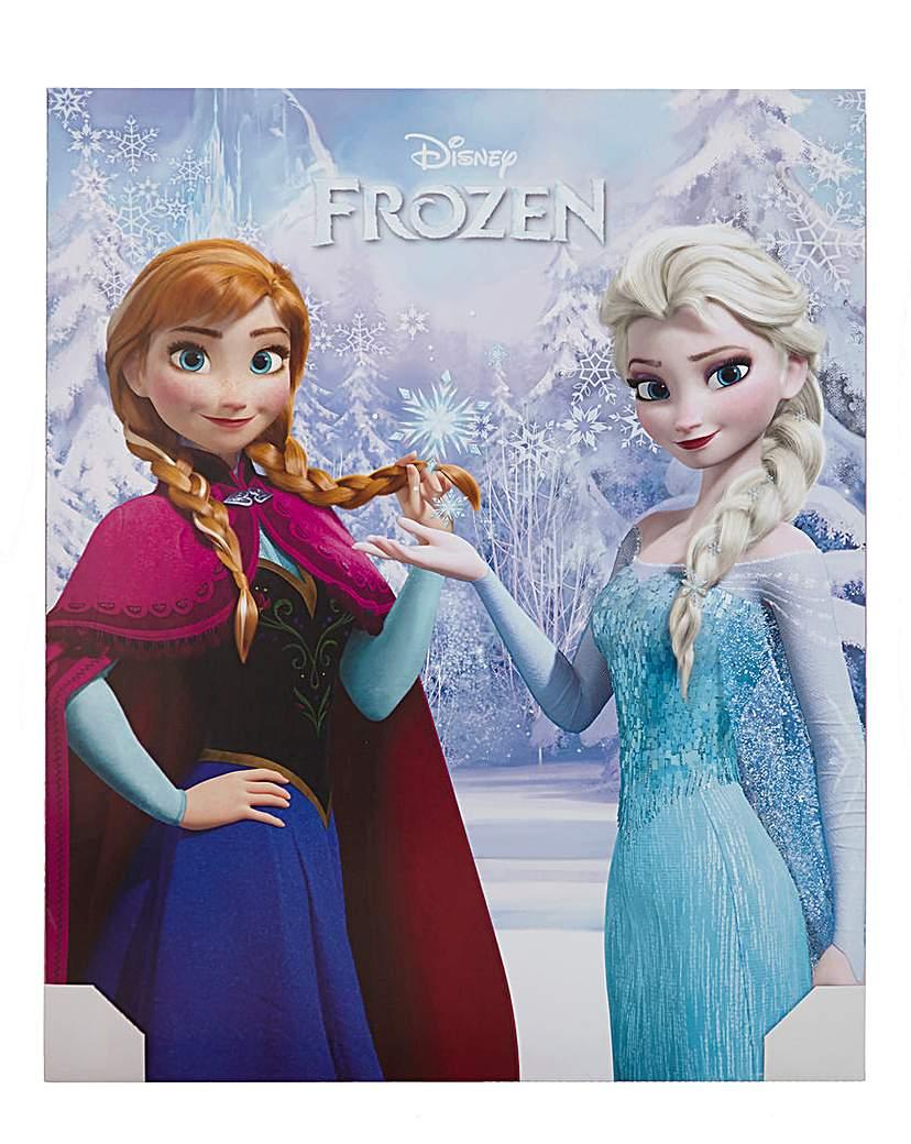 Frozen Crystal Poster Board Wall Art