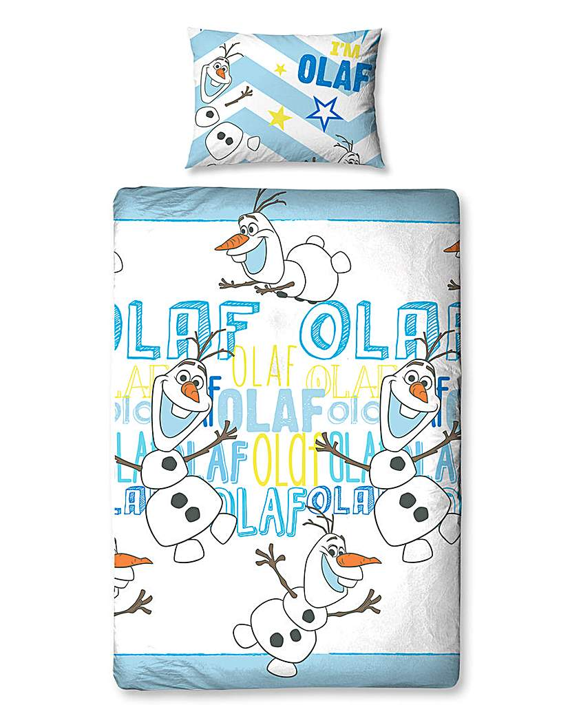 Image of Disney Frozen Olaf Rotary Duvet Set