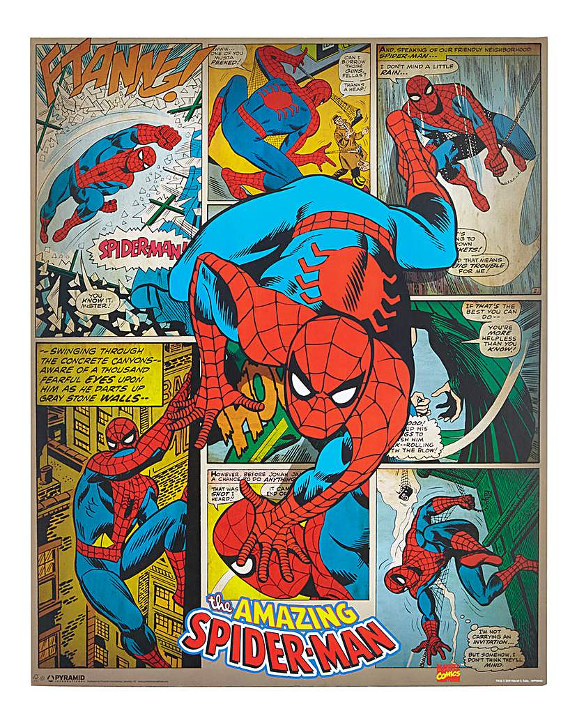 The Amazing Spiderman Poster Board