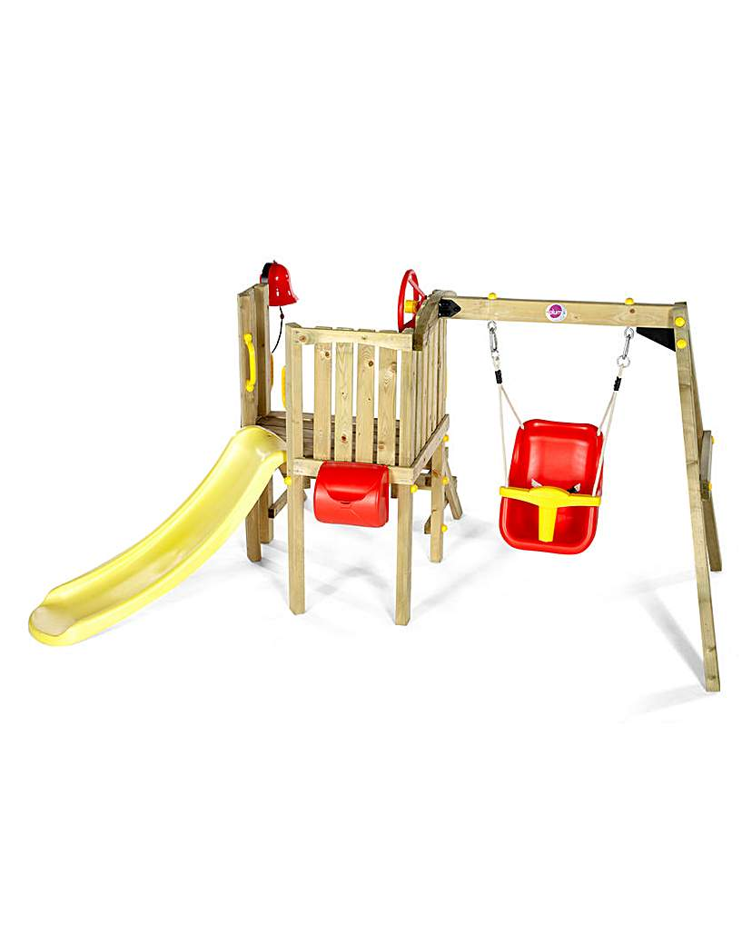 Image of Plum Toddlers Tower Wooden Play Centre