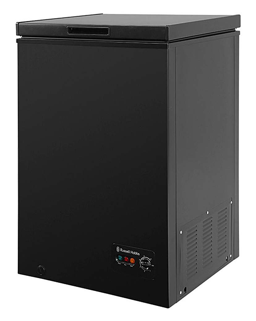 Russell Hobbs 99L Chest Freezer Black