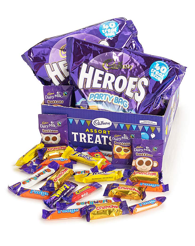 Image of Cadbury Treat Size Box