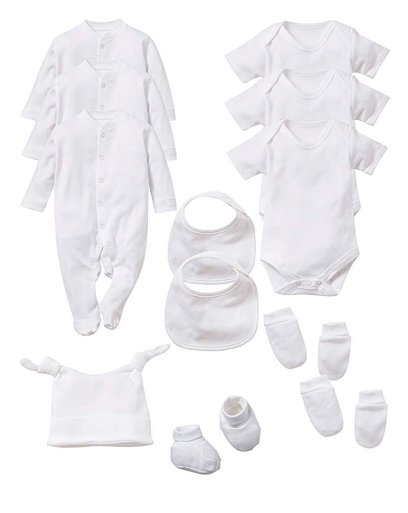 Lollipop Lane 12 Piece Baby Starter Set