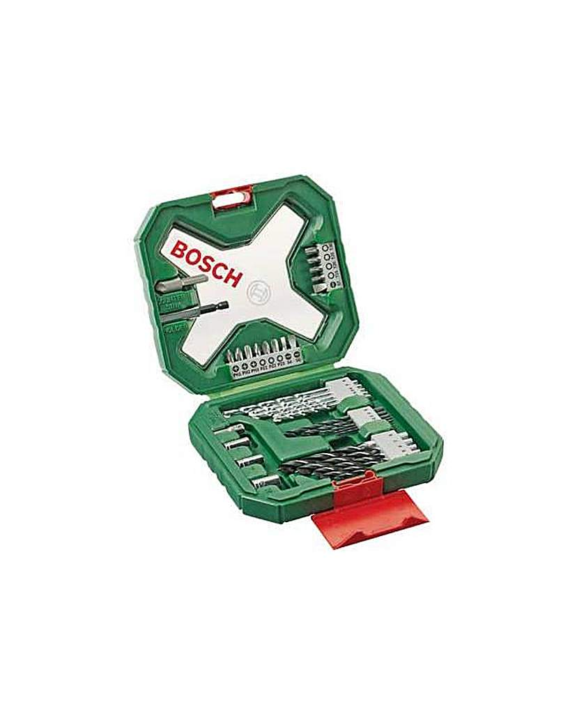 34 Piece Drill and Screwdriver Bit Set