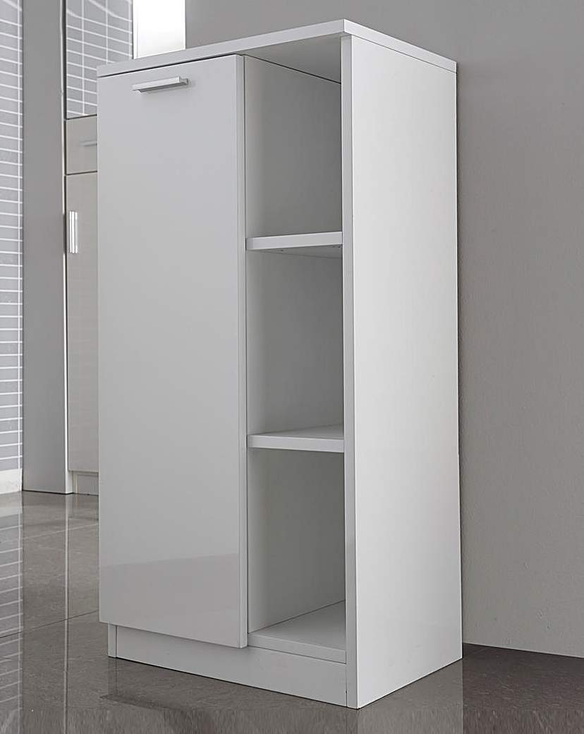 Image of White Gloss Console Unit