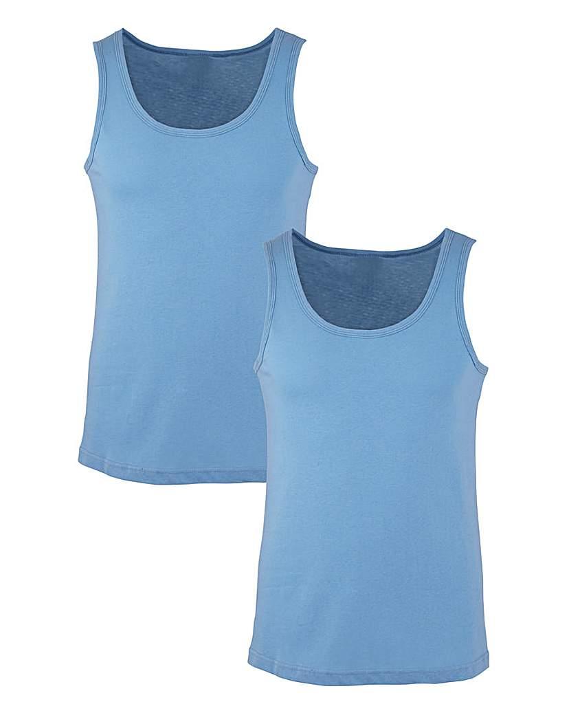 Southbay Blue Pack Of 2 Vests