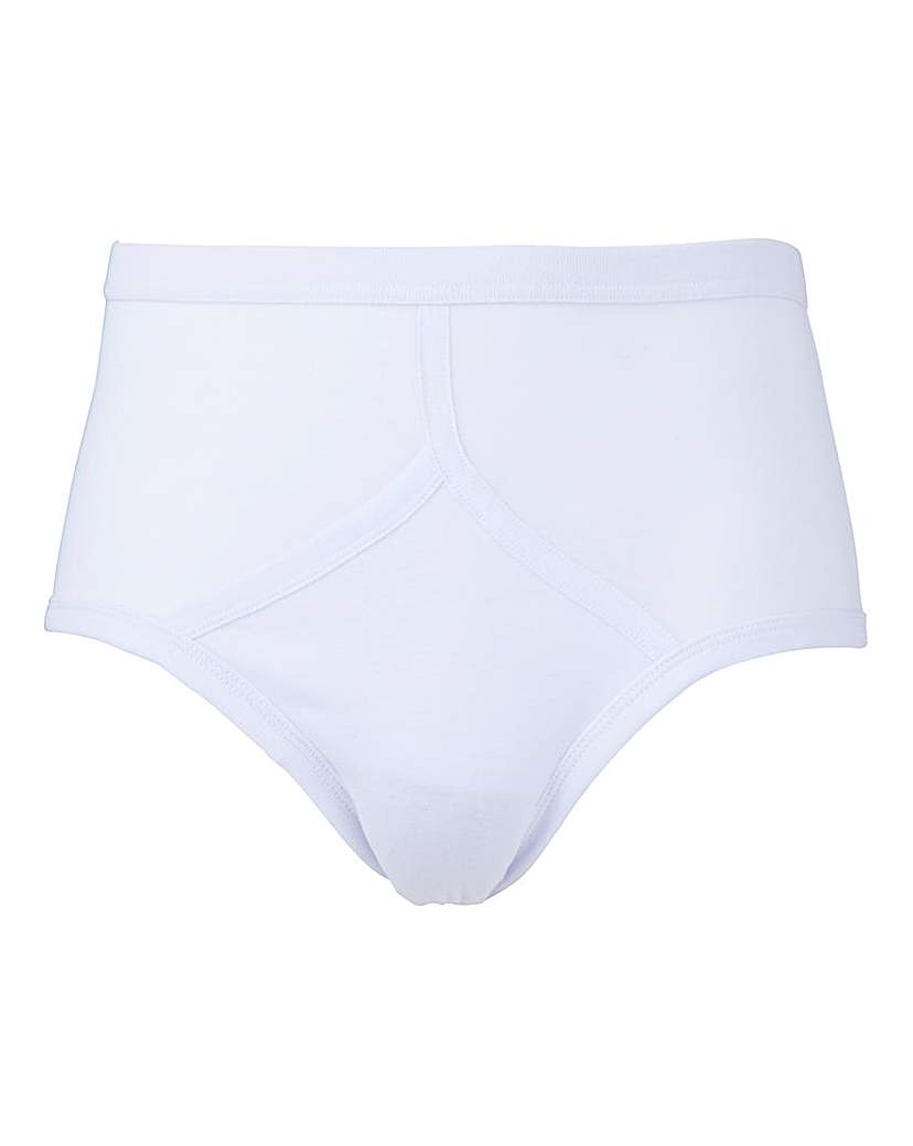 Southbay Pack of 5 White Briefs