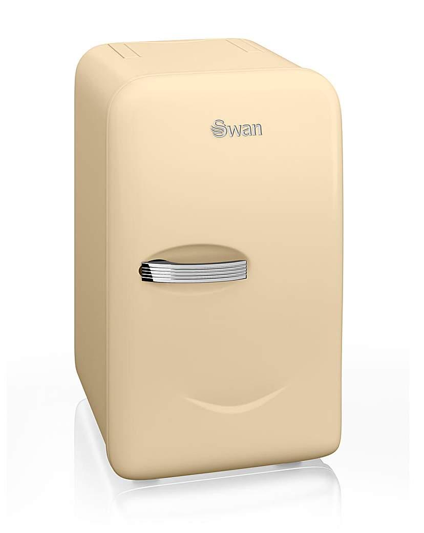 Swan Retro 17L Mini Fridge - Cream