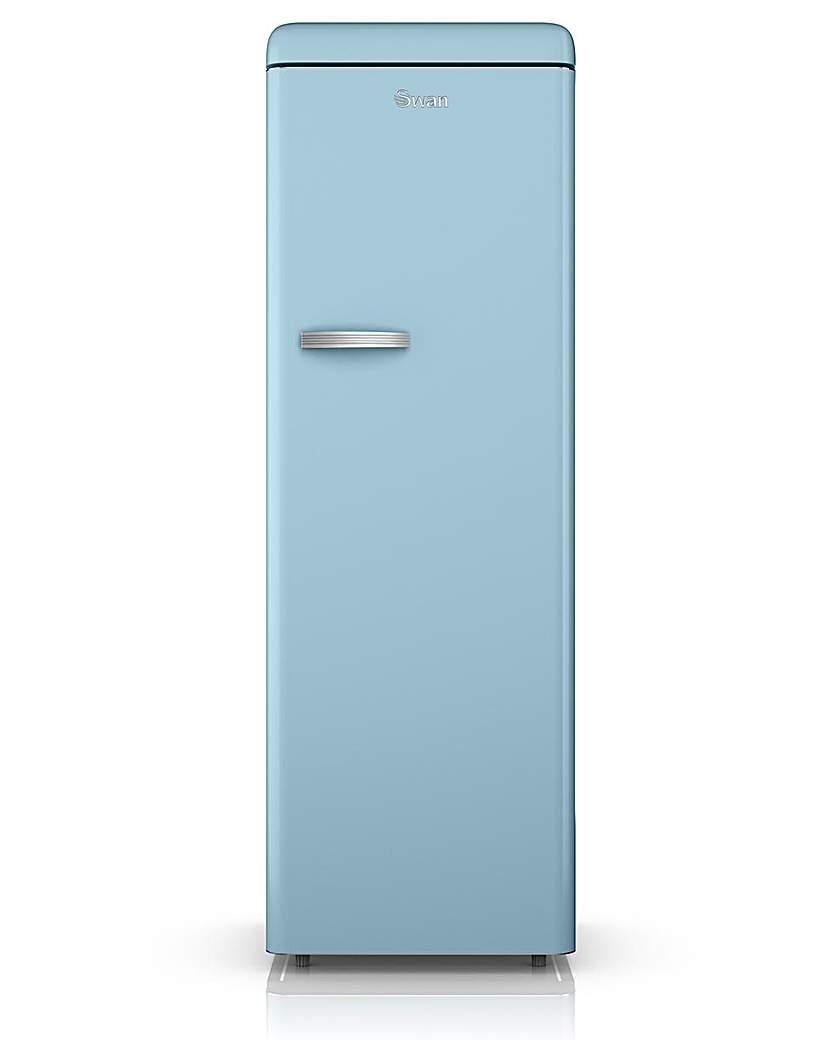 Swan Retro Larder Freezer - Blue
