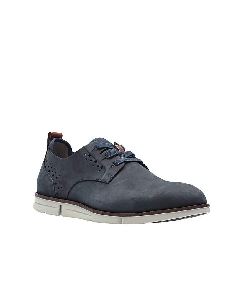 Clarks Trigen Lace Shoes.